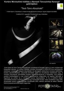 Test-Tánc-Absztrakt-plakát