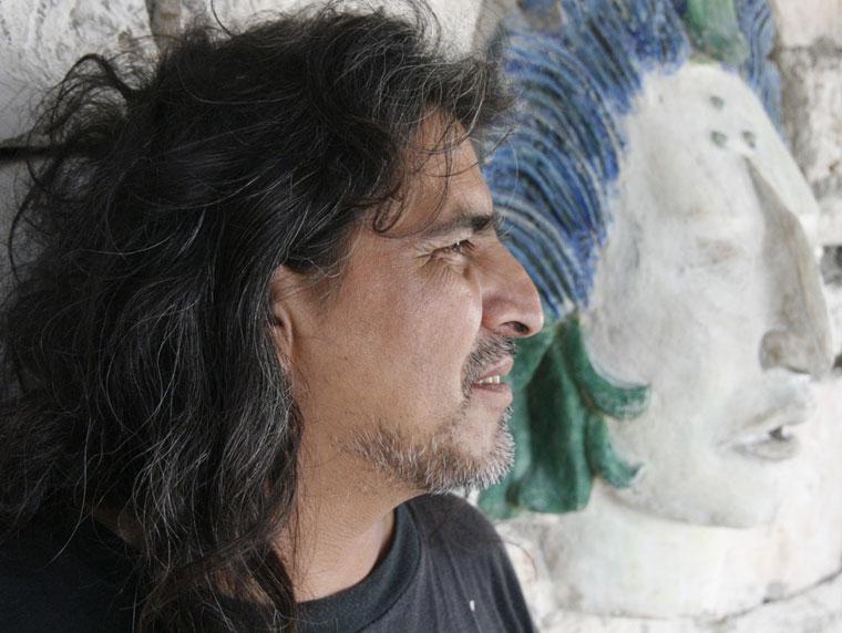 Mexikó-Coba-Rivus-Palomo-batikoló-művész