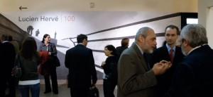 Lucien-Hervé-kiállításmegnyitó