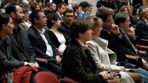 Lucien-Hervé-kiállításmegnyitó-közönsége