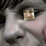 Portré tükröcskével