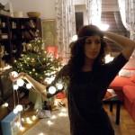 Karácsonyfánál-Kata