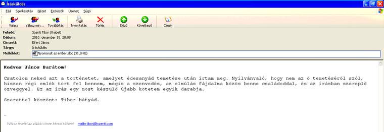 Szenti-Tibor-e-mailje
