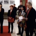 Vinko Šebrek kiállítás-megnyitó