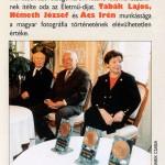 Életműdíjasok-Tabák-Németh-Ács-Irén
