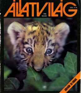 1981-05-Állatvilág-címlap