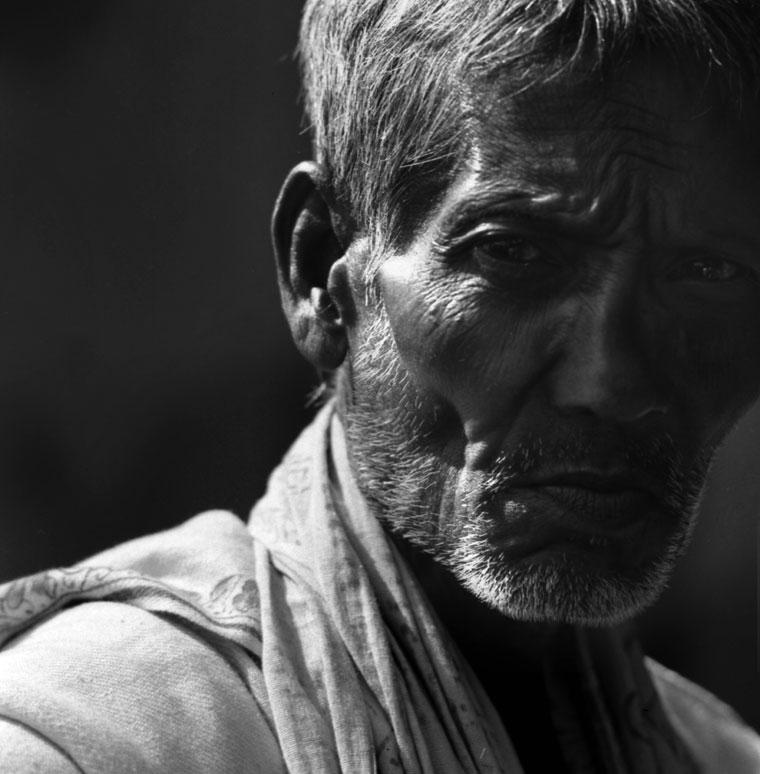 Eifert János: Calcuttai férfi (India, 1974)