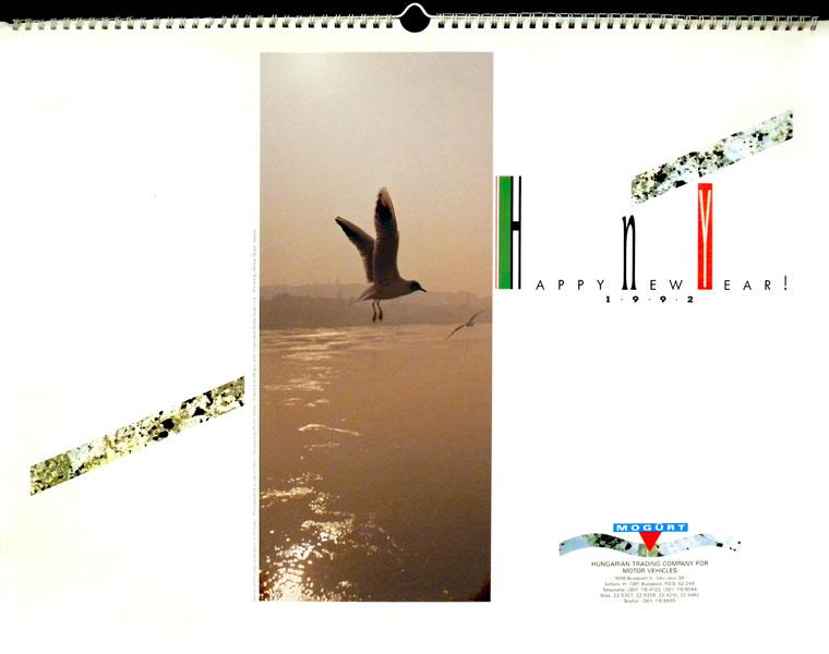1992-MOGÜRT-naptár-címlap