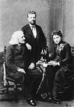 Liszt Ferenc, Táborszky Nándor, Lina Schmalhausen