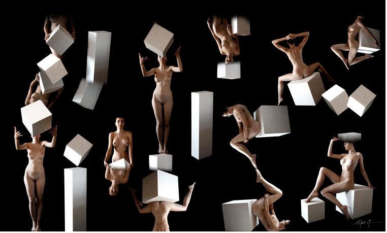 Játék-geometriai-elemekkel. Photo: Eifert János