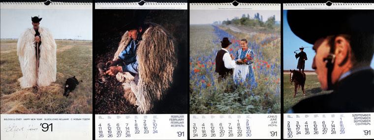 1991-Hortobágy-naptár (Photo: Eifert János)