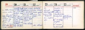 1969.10.19-25-Határidőnapló