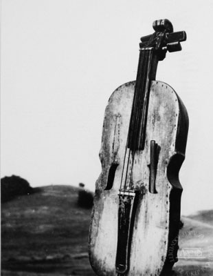 Eifert János: Népi hangszer, 24x18cm (7. Ágens Fotóárverésen elkelt fotó)
