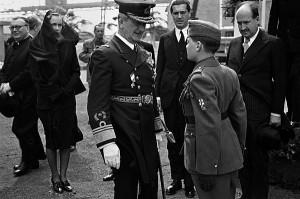 Kozák Lajos: Horty Miklós kormányzó Szolnokon, 1943