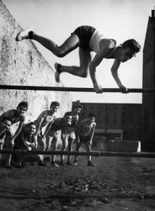 Kozák Lajos: Testnevelés óra, '30-as évek