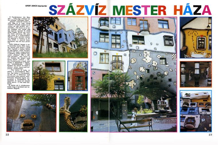 Százvízmester háza - Eifert János képriportja, Búvár 1986/12