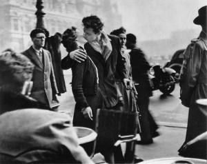 Robert Doisneau: Csók (Párizs)