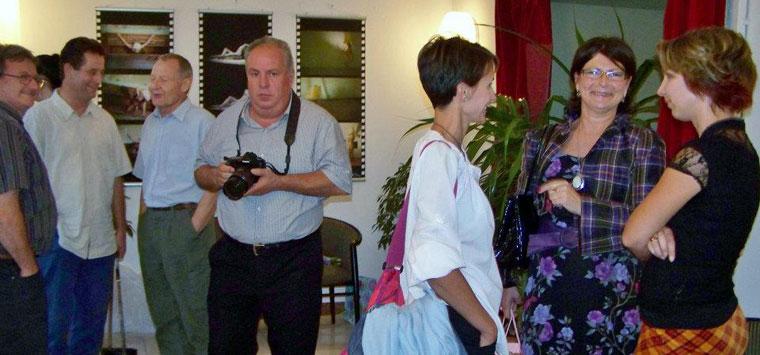 TESTBESZÉD - Velican-Patrus Dóra és Patrus Sándor közös kiállítása, Kerengő Galéria (Kapusy György felvétele)