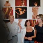 TESTBESZÉD - Velican-Patrus Dóra és Patrus Sándor közös kiállítását Eifert János nyitja meg (Kapusy György felvétele)