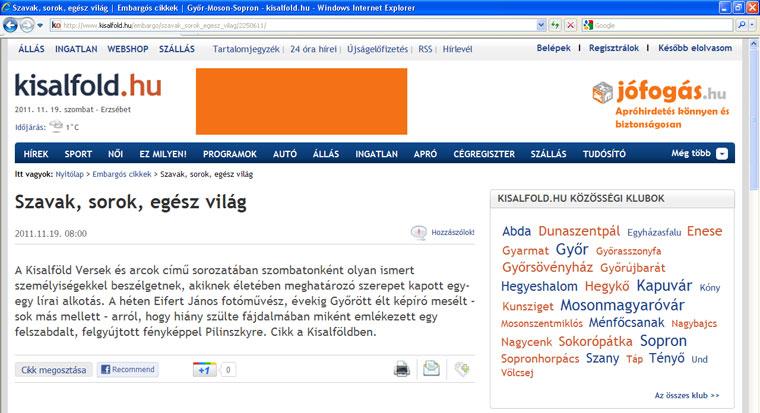 2011.11.29-Kisalfold.hu