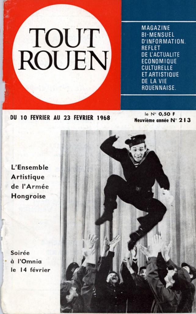 Tout Rouen N° 213, du 10 fevrier au 23 fevrier 1968 23