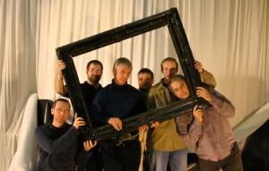 A Magyar Fotóművészek Szövetsége mesterkurzusa. Tánc/Test fényképezés az MMS Mozdulatművészeti Stúdióban, Budapest, 2005. február 12. (Photo: Eifert János)