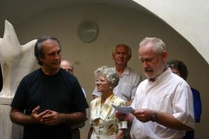 Megnyitotta: Somodi Ferenc újságíró, a Kisalföld főszerkesztő-helyettese 2005.09.01.
