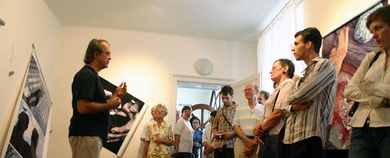 Eifert János: Képnovellák 6. fényKÉP/másKÉPP kiállítás és digiRama vetítés, Győr, 2005.09.01.