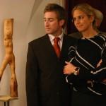 Botond Béla kiállításának megnyitóján, Kerengő Galéria, 2005. november 11.