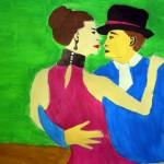 """""""A tánc nekem..."""" A nemzeti Táncszínház gyerekrajzpályázatának anyagából"""