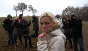 Modellfényképezés a Városligetben, Fotóoktatás.hu művészsulisoknak (Photo. Eifert János) 2011.11.27.
