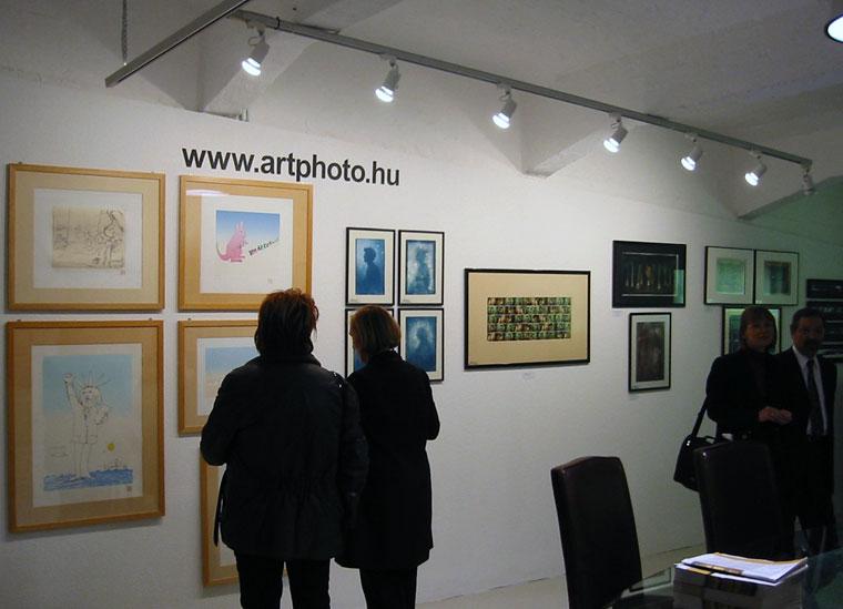 MEO ART FAIR 2002, ArtPhoto Galéria kiállítása, Budapest, 2002.11.27.