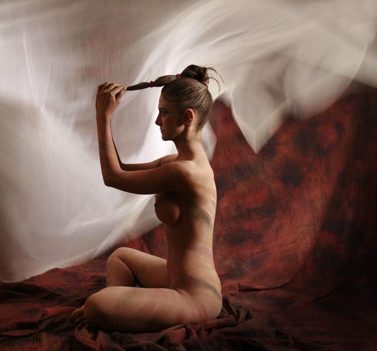 Aktmodell: Larion Zoé (Photo: Eifert János)