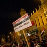 Hajrá Orbán Viktor! Békemenet a Kossuth-téren  (Photo: Eifert János)