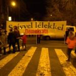 Szívvel lélekkel, Új Demokrata. Békemenet a Kossuth-téren  (Photo: Eifert János)