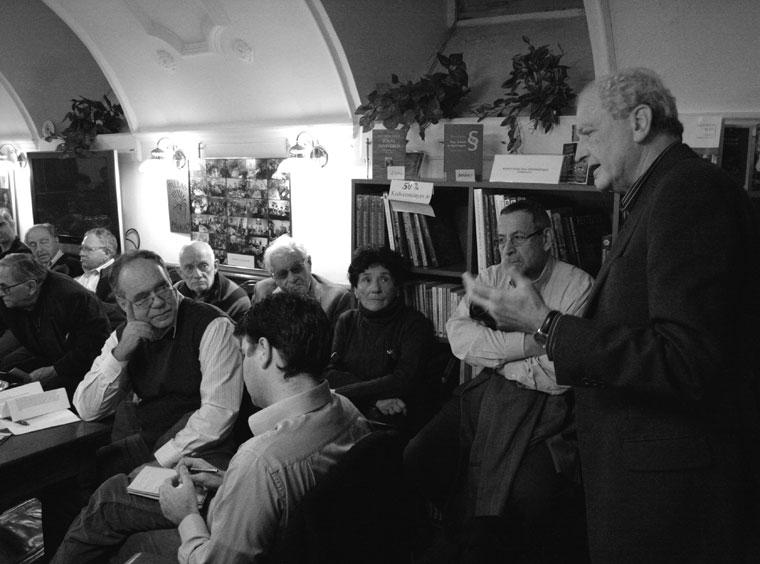 Bárándy a XXI. Század Társaság összejövetelén