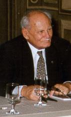 Göncz Árpád köztársasági elnök (Mai Manó Ház, 1999. október 20.)