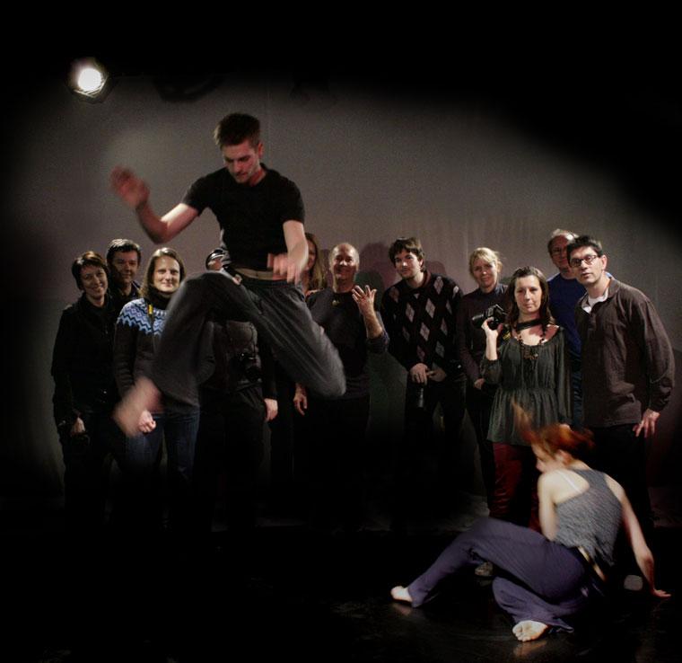 Eifert táncworkshop, csoportkép