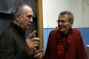 Eifert János és Hankiss Elemér (E. Tóbiás Sára felvétele)