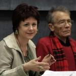 Dr. Zsidai Ágnes és Hankiss Elemér (Photo: Eifert János)