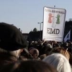 2012. március 15., Millás-tüntetés az Erzsébet-hídnál, Civil-kontroll
