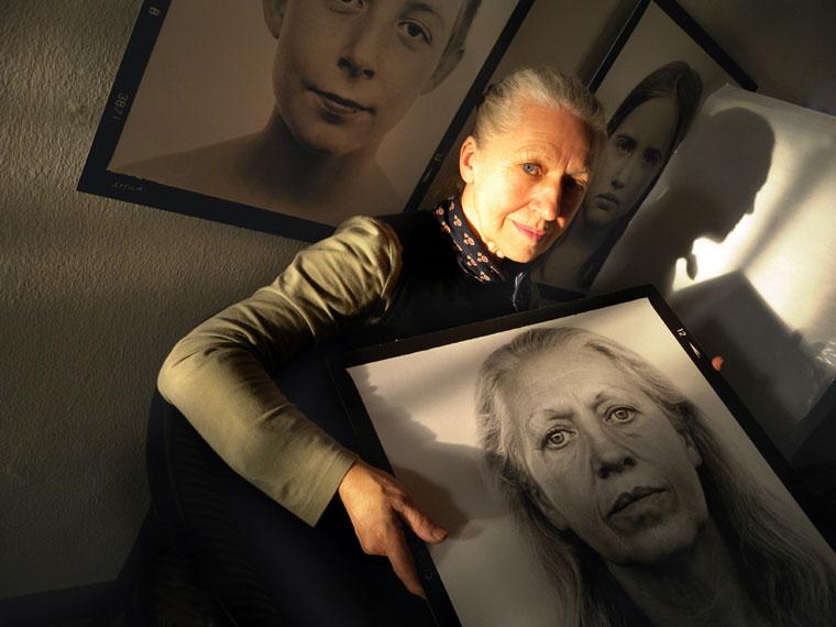 Baricz Kati fotóművész (Photo: Eifert János)