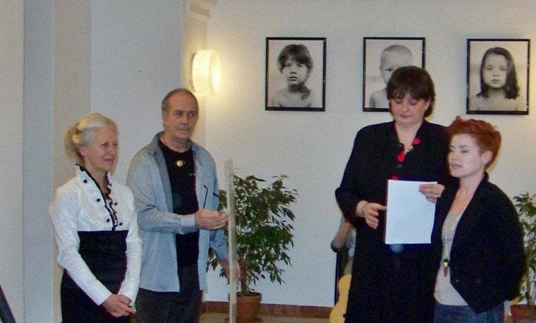 Baricz Kati, Eifert János, S. Faragó Gyöngyi (Kapusy György felvétele)