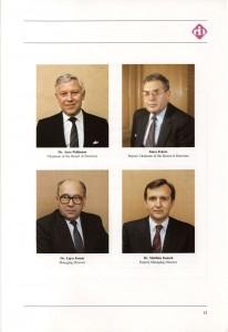 CIB-Bank, Annul Report 1987 (Photo: Eifert János)