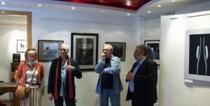Ágens Fotóművészeti Galéria, Eifert KÉPÍRÁS c. könyvének bemutatója, kiállítása (Peti Péter felvétele)