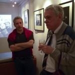 Ágens Galéria, Hász András és Fejér Zoltán fotóművészek (Eifert János felvétele)