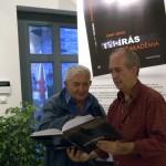 Antal Béla, az El Cafe Kávéház tulajdonosa és Eifert János