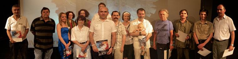 IV. Gyöngyösi Digiráma Bemutató-csoportkép a résztvevőkkel, szervezőkkel