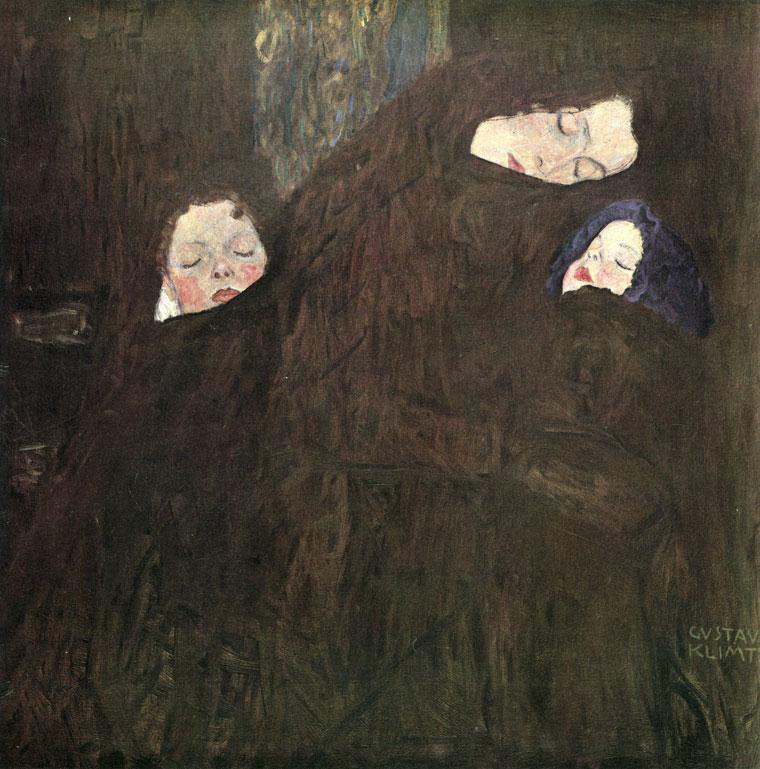 Wien-Gustav-Klimt_Mother-with-children