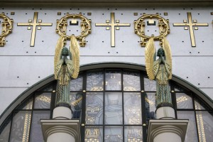 Otto Wagner-templom, Leopoldskirce (Photo: Eifert János)